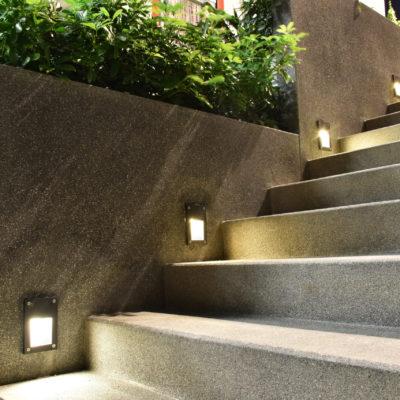 Kunststoffglas für Innen- und Außenbeleuchtung